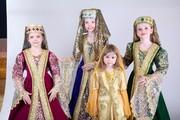 Новая коллекция кавказских костюмов для девочек прокат в Алматы