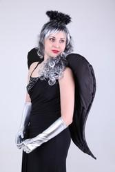 Прокат карнавального костюма Черного Ангела в Алматы