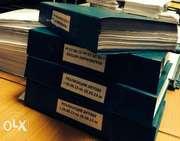 Уничтожение бухгалтерских документов,  архивная обработка документов и