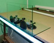 Склейка стекла Ультрафиолетовым клеем.