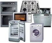 100%Ремонт стиральных машин газовых электрических плит холодильников