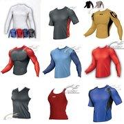 BISON. Купить спортивную майку,  потоотводящие майки,  футболки Wsi