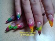Профессиональное наращивание ногтей в Алматы