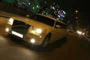 Прокат лимузина Chrysler300c(Крайслер300с)+машины сопровождения дешево