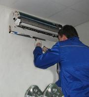 Ремонт,  монтаж (установка) и до/запрвка кондиционеров в Алматы