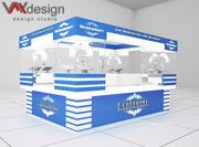Дизайн и изготовление торгового и выставочного оборудования