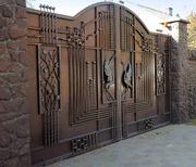 ворота заборы навесы