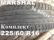 Шины 225/60/R16 Marshal комплект