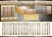 Элементы лестниц из элитных пород дерева производство Россия