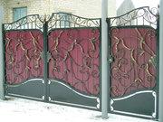Ворота кованные в Алматы