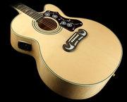 Epiphone EJ-200CE акустическая гитара