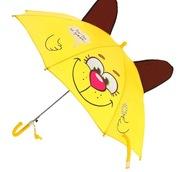 Зонт детский Песик топает по лужам с ушками 46339