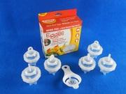 Набор из шести форм для варки яиц без скорлупы 43086