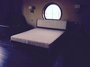 Продам новую двуспальную кровать с матрацом