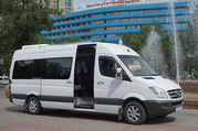 Развозка сотрудников на микроавтобусах