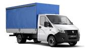 Грузоперевозки,  перевозки,  доставка грузов на Газели NEXT европлатформ