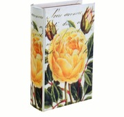 Ключница книжка Желтая роза 46365