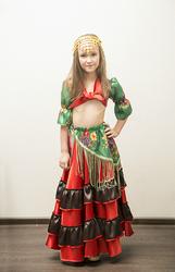 Цыганский костюм детский на прокат