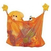 Органайзер сетка для хранения игрушек на присосках 46377