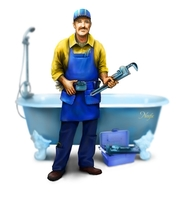 Прочистка канализации,  засоров раковин,  ванн,  унитазов