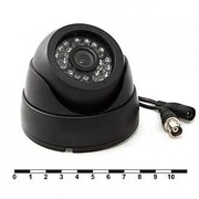 Продам Купольная камера видеонаблюдения,  c ИК-подсветкой,  700TVL
