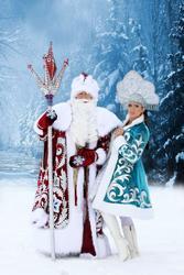 Дед Мороз и Снегурочка,  Санта Клаус