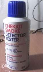 Проверка дымовых датчиков SMOKE DETECTOR