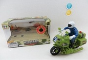 Мотоцикл инерционный military operation 46404