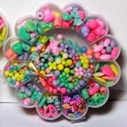 Набор бисера в пластиковом кейсе для девочек 46407