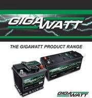 Аккумуляторы GIGAWATT в Алматы купить
