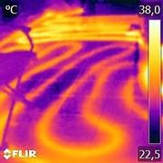 Поиск скрытых протечек труб,  теплых полов и крыш.
