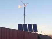 Солнечные,  ветровые и гибридные электростанции