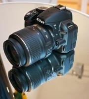 Nikon D3100 Полный комплект. Торг.