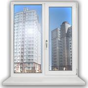 Пластиковые окна и двери,  ПВХ профили,  монтаж и изготовление