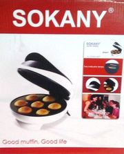 Аппарат для приготовления кексов маффин (Маффин Мейкер) Sokany 46432