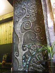 Рельефное панно,   декор стен,   потолков и  арок под ключ