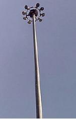 Прожекторные мачты до 40 метров. Опоры освещения. Молниеприемники МОГК