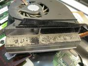 Перегрев ноутбука устранение,  чистка ноутбука от пыли,  термопаста