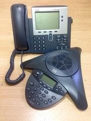 Cisco IP телефон 7940,  Cisco IP Konference Statiotion 7936