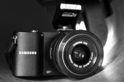 Samsung NX 1000 Беззеркальный системный фотоаппарат со сменной оптикой