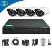 Продам Комплект готового CCTV видеонаблюдения на 4 камеры с высоким ра
