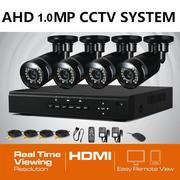Продам Комплект готового AHD 1.0Mp видеонаблюдения на 4 камеры