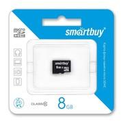 Продам Карта памяти MicroSD Smartbuy 8GB (class 10) оптом от 30шт.