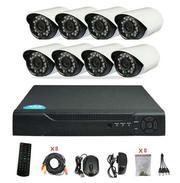 Продам Комплект готового CCTV видеонаблюдения на 8 камер с высоким раз