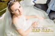 свадебный макияж в алматы,  свадебный визажист в алматы,  прическа на св
