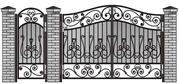 Ограждения,  Ворота