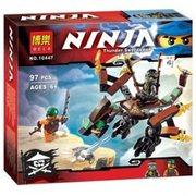 Конструктор Bela Ninja Дракон Коула 46547