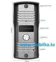 Продам Вызывная видео панель для видеодомофона,  модель 666H