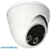Купольная внутренняя AHD камера видеонаблюдения с ночной подсветкой