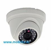 Купольная внутренняя AHD камера видеонаблюдения с ночной подсветкой,  м